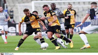 Лигоевропейцы греческого футбола завершили миром очный поединок