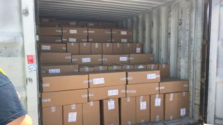 Салоники: изъято 10 млн контрабандных китайских сигарет