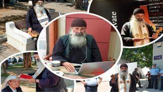 Архимандрит предлагает исповедь... через Facebook Messenger