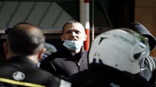 Касидиарис возле ГАДА: «Да здравствует Греция!»