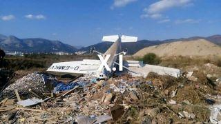 В Ксанти потерпел аварию самолет. Есть пострадавшие