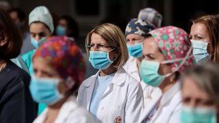 Лариса: 7 врачей получили положительный тест на коронавирус