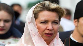 Супруга Медведева в Салониках