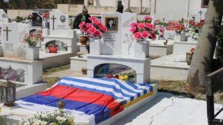 В Греции прошла торжественная церемония по установке памятной плиты на могиле ветерана ВОВ