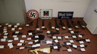 В Италии изъят арсенал оружия у участников добровольческих батальонов, воевавших на Донбассе