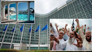 Еврокомиссия профинансирует размещение еще 6000 нелегалов в греческих отелях