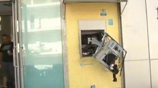 Банкомат в Глифаде взорвали динамитом