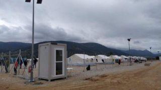 На карантин закрыт еще один лагерь с беженцами