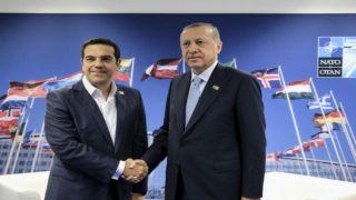 Встреча Ципраса и Эрдогана в США