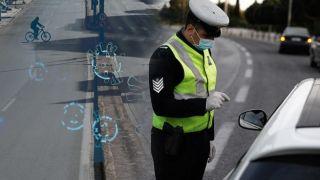 Аттика: сотни штрафов за отсутствие маски