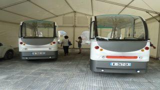 Автобусы без водителей на улицах Трикалы