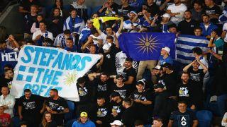 Australian Open: греческие болельщики «сыграли» активнее своих теннисистов