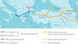 Одобрено строительство интерконнектора Греция-Болгария (IGB)