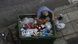Кризис оставил греков голодными...
