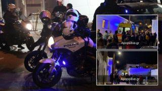 «Пьяная» стрельба на Крите: 1 убит, 1 ранен