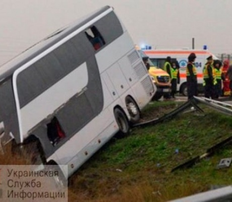 Автобус Греция – Одесса попал в ДТП есть пострадавшие