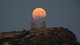 21 января в Греции можно будет увидеть полное лунное затмение