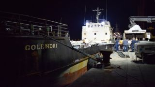 Супруга капитана судна GOLENDRI: греки под предлогом поиска контрабанды ограбили корабль