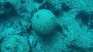 «Рогатая смерть»: обезврежена морская мина времен ВМВ