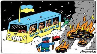 День позора: здоровые украинцы прилетели в нездоровую Украину