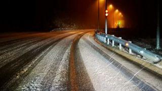 Первый снег выпал в Северной Греции
