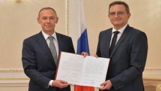 Константинос Палакидис получил консульский патент России в Александруполисе