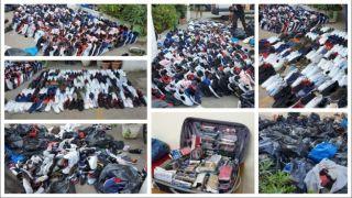 """Арестованы """"беженцы"""" торговавшие контрабандой возле АУЭБ"""