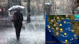 Погода ухудшится на значительной территории Греции