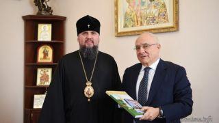 Посол Греции в Украине поздравил предстоятеля ПЦУ