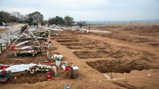 Специальные захоронения в разгар пандемии