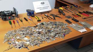 Пойманы грабители из Грузии, совершавшие кражи в домах Халандри