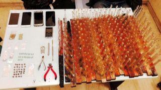 Полиция ликвидировала сеть торговли героином и метамфетамином в центре Афин