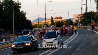 Жители Камена Вурла перекрыли дорогу Афины - Ламия
