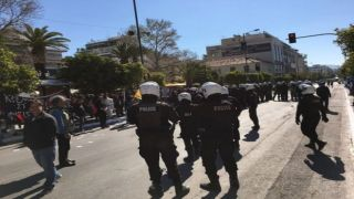 Каллифея: Радикалы устроили потасовку, грозящую сорвать парад