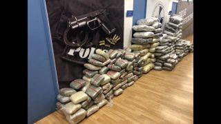Обнаружен целый склад наркотиков - 560 кг каннабиса