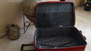 В чемодане провозили нелегала