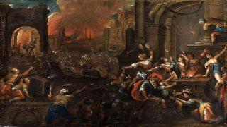 24 апреля 1184 до нашей эры греки проникли в Трою