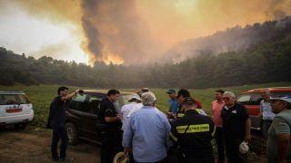 Пелопоннес: Пожарные тушили возгорания в Илии