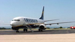 Рейс Ryanair совершил аварийную посадку в Греции после сообщения о пожаре