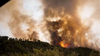 В Греции начался сезон пожаров...