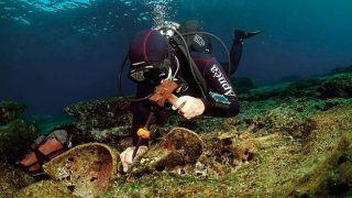 У о.Касоса обнаружены еще четыре древних кораблекрушения