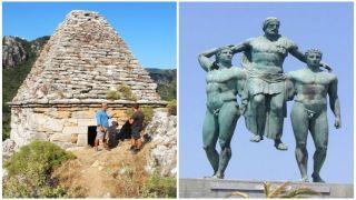 Пирамида найденная в Турции оказалась гробнице древнегреческого атлета Диагора Родосского