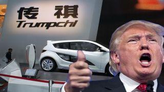 Китайская компания не хочет продавать в США автомобиль «Trumpchi»