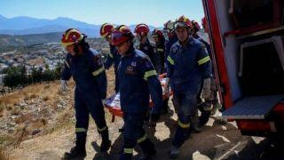 Землетрясение на Крите: на глазах у сына погиб отец