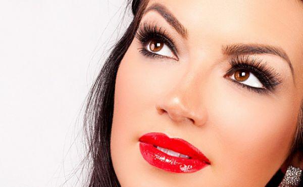Перманентный макияж губ и бровей, перманентная завивка ресниц