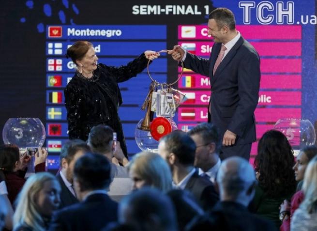 Наследующей неделе вКиеве пройдет жеребьевка стран— участниц «Евровидения-2017»