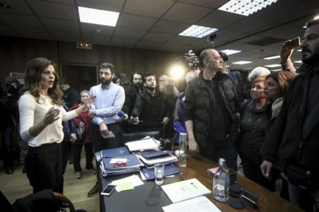 Министерство труда Греции подверглось штурму