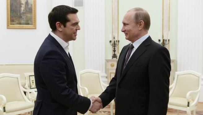 Афины встречают Путина