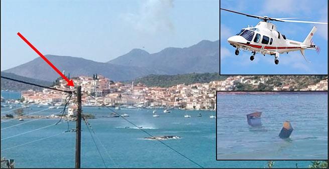ВГреции разбился вертолет, наборту которого могли быть двое граждан России