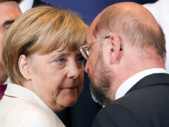 Шульц стал конкурентом Меркель навыборах вканцлеры Германии